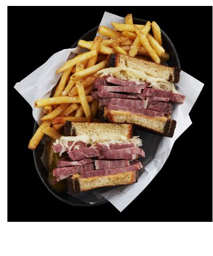 Reuben Sandwich - Hover